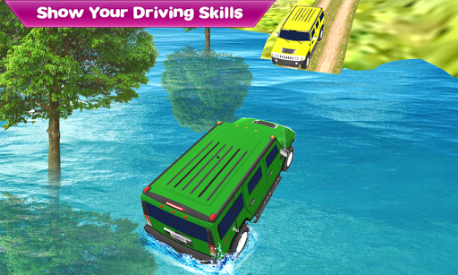 Crazy Taxi Jeep Drive: Jeep Driving Games 2020 apkslow screenshots 8