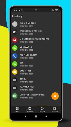 QR code reader apktram screenshots 6
