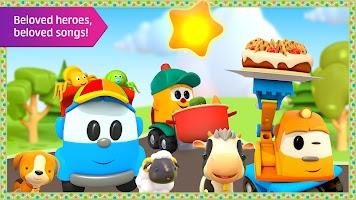 Leo the Truck: Nursery Rhymes Songs for Babies