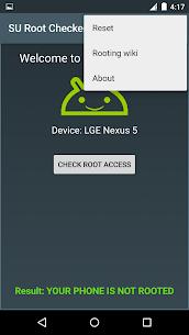 SU Root Checker Apk Download NEW 2021 5