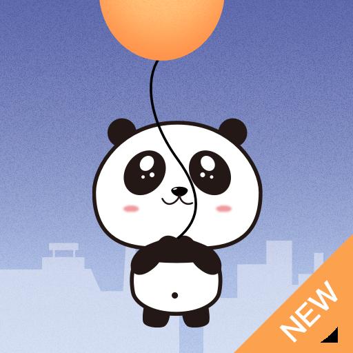 Panda Rise Up! Icon