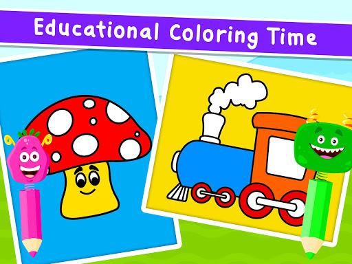 Coloring Games for Kids - Drawing & Color Book Apkfinish screenshots 11