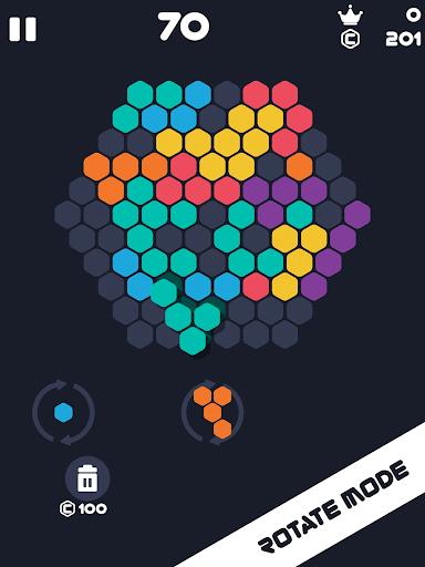 Hexa Mania Fill Hexagon Puzzle, Hex Block Blast  screenshots 11
