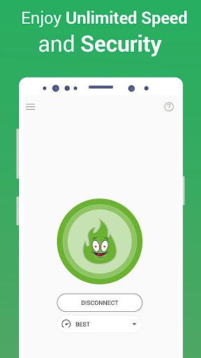 VPN Free - GreenNet Unlimited Hotspot VPN Proxy 1.4.4 screenshots 4