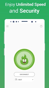 VPN Free – GreenNet Hotspot VPN & Private Browser 4