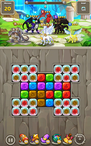 Dragon Village B - Dragon Breeding Puzzle Blast  screenshots 16