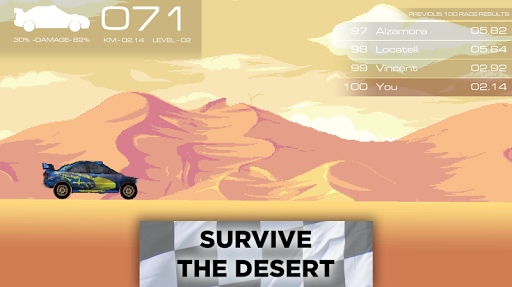 Pixel Rally 1.4 screenshots 2