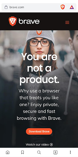 Brave Browser (Beta) 1.18.57 screenshots 1