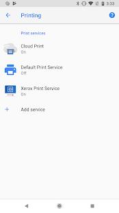 Xerox Print Service Plugin
