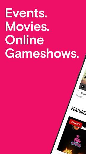 Paytm Insider: Movie Tickets, Events & Gameshows 4.5.5 Screenshots 1
