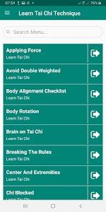 Learn Tai Chi Techniques Easy 8.0.6