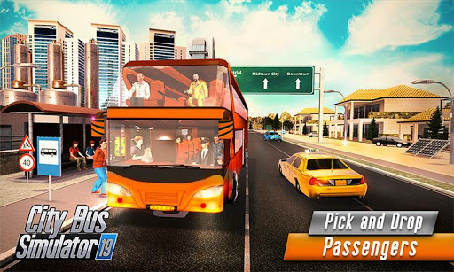 Euro Bus Driver Simulator 3D: City Coach Bus Games 2.1 Screenshots 3