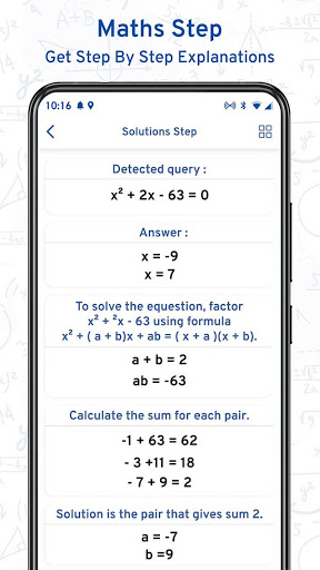 Math Scanner By Photo - Solve My Math Problem android2mod screenshots 10