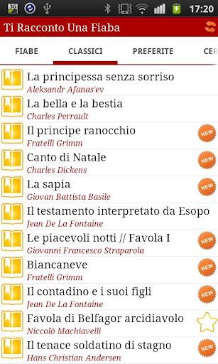 Italian bedtime stories 3.3.1 screenshots 1