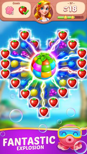 Fruit Diary - Match 3 Games Without Wifi screenshots 3