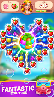 Fruit Diary - Match 3 Games Without Wifi