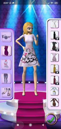 3D Fashion Superstar Dress Up screenshots 8