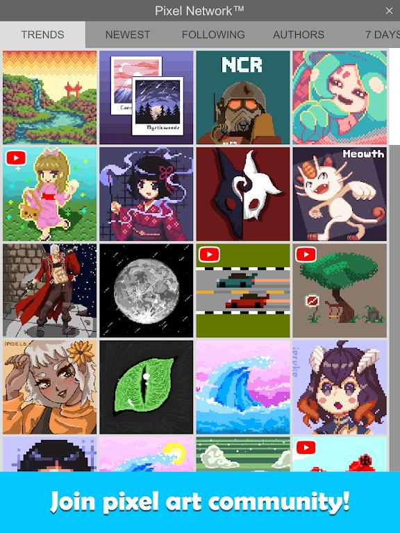 Pixel Studio - Pixel art editor, GIF animation  poster 10