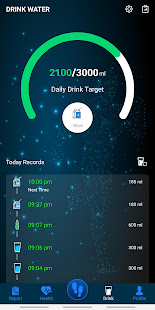 Pedometer – Step counter & Water reminder apps