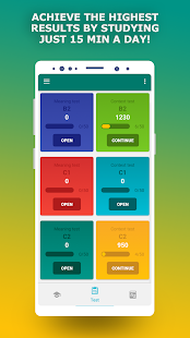 TOEFL preparation app. English Vocabulary Builder