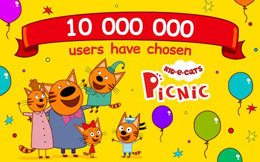 Kid-E-Cats: Picnic with Three Catsu30fbKitty Cat Games  screenshots 9