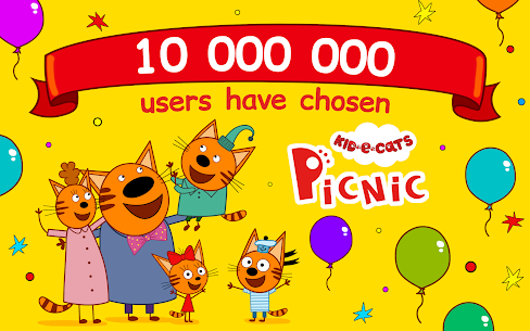 Kid-E-Cats: Picnic with Three Cats・Kitty Cat Games 9