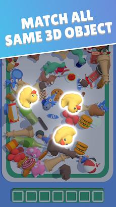 Match Triple 3D - Matching Relaxing Gameのおすすめ画像1