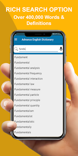 Advanced English Dictionary: Meanings & Definition 3.4 Screenshots 5