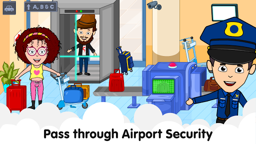 My Airport Town: Kids City Airplane Games for Free 1.6.1 Screenshots 2