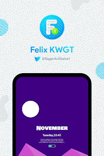 Felix KWGT v9.0.0 [Paid] APK is Here ! [Latest] 3