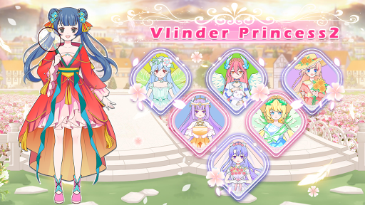 Vlinder Princess2:doll dress up games,style avatar  apktcs 1