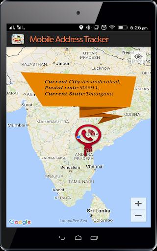 Live Mobile address tracker 1.9.45 screenshots 10