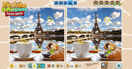 5 Differences - Online Match  screenshots 2
