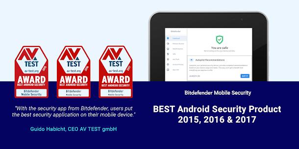 Bitdefender Mobile Security & Antivirus Mod Apk (6 Month Free License) 8