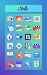 Belle Pro Icon pack   Wallpapers   KWGT Patched APK 1