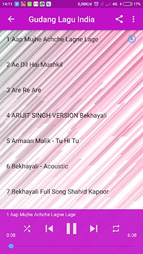 gudang lagu mp3 : lagu india offline terlengkap screenshot 3