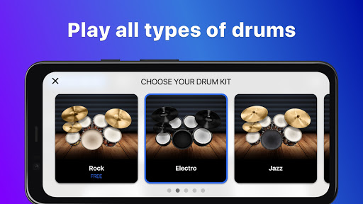 Drums: real drum set music games to play and learn 2.18.01 screenshots 5