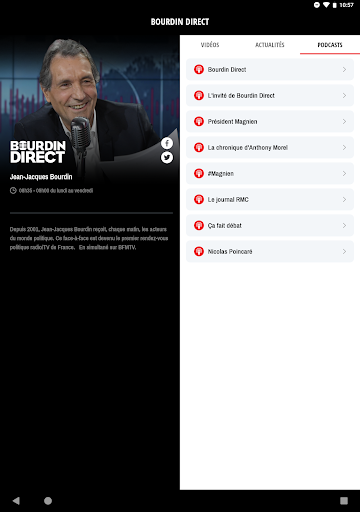 RMC ud83cudf99ufe0fInfo et Foot en direct - Radio & Podcast  Screenshots 17