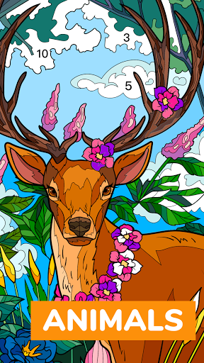 Color Flow - Color by Number. Coloring games. 1.9.2 screenshots 5