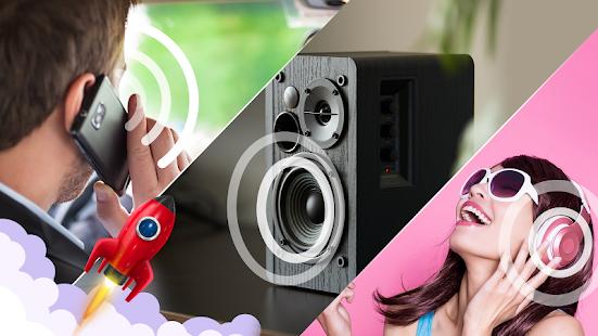 Extra Volume Booster - loud sound speaker