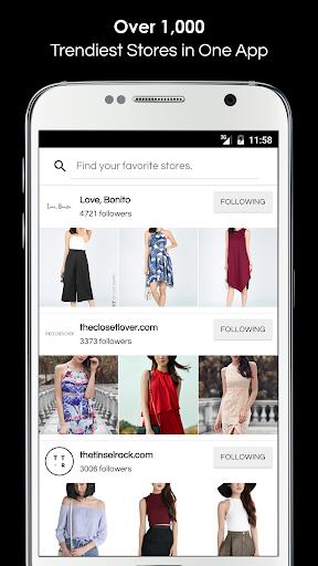 shopperboard: fashion shopping screenshot 1