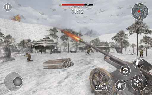 World War 2 Frontline Heroes: WW2 Commando Shooter apkdebit screenshots 4