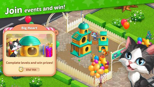 Télécharger Matchland - Build your Theme Park mod apk screenshots 2