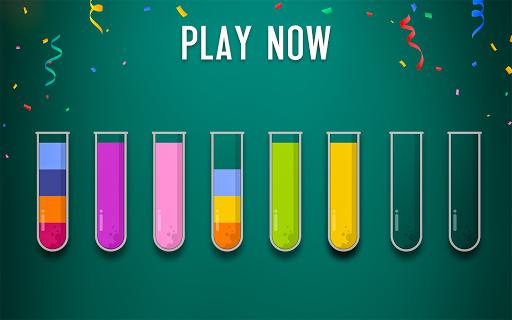 Sort Water Puzzle - Color Sorting Game  screenshots 12