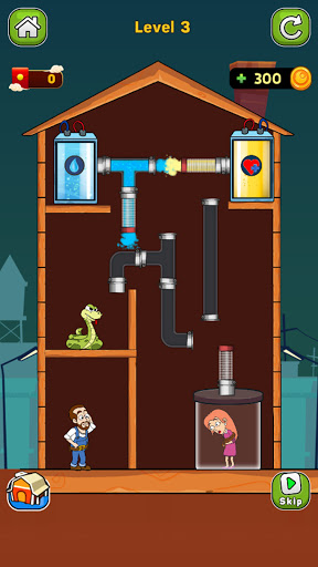 Home Pipe: Water Puzzle 1.1 screenshots 2