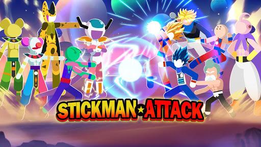 Stickman Attack - Dragon Warriors  screenshots 1