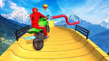 Bike Stunt Games 2021 : Bike Racing Games 3D Moto
