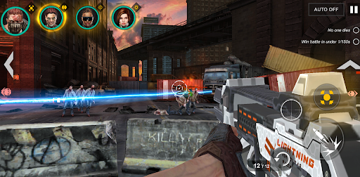 DEAD WARFARE: RPG Zombie Shooting - Gun Games Apkfinish screenshots 7
