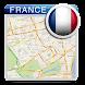 フランスオフラインロードマップ - Androidアプリ