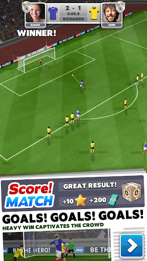 Score! Match - PvP Soccer apktram screenshots 1